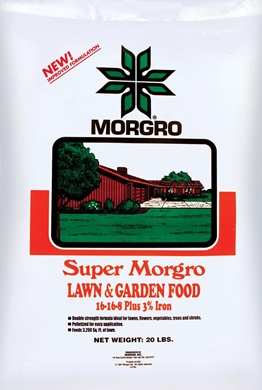 SUPER MORGRO LAWN & GARDEN FERTILIZER