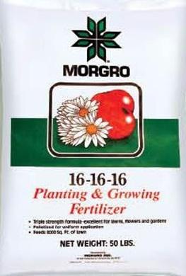 PLANTING & GROWING FERTILIZER