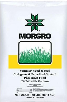 CRABGRASS & BROADLEAF CONTROL PLUS LAWN FOOD