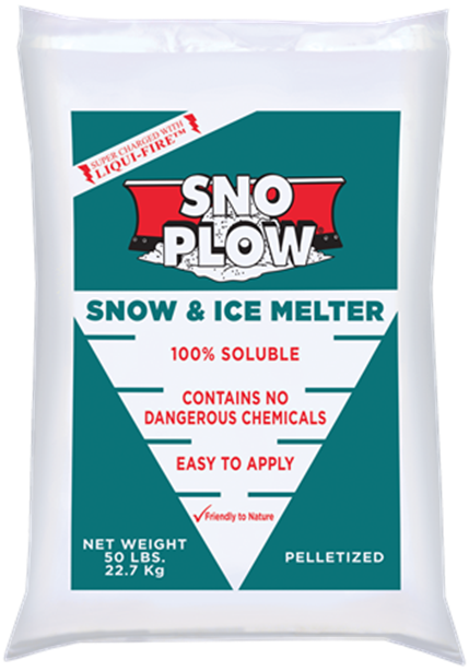 SNO PLOW SNOW AND ICE MELT